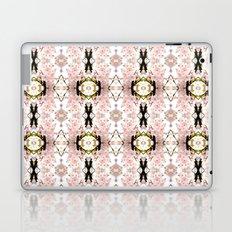 Pink flower pattern Laptop & iPad Skin