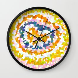Sun Beam Geometric Wall Clock