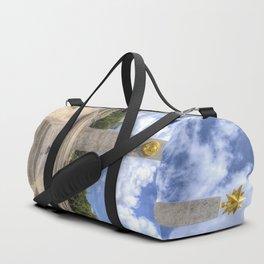 Russian World War 2 Memorial Budapest Duffle Bag