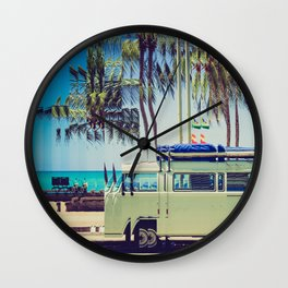 Camp Out Wall Clock