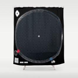 8 Bit Technics SL-1210MK5 Shower Curtain