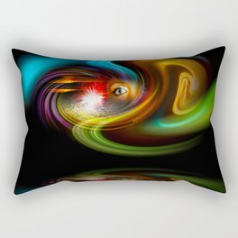 Abstract Perfection - Magical Light And Energy 2 Rectangular Pillow