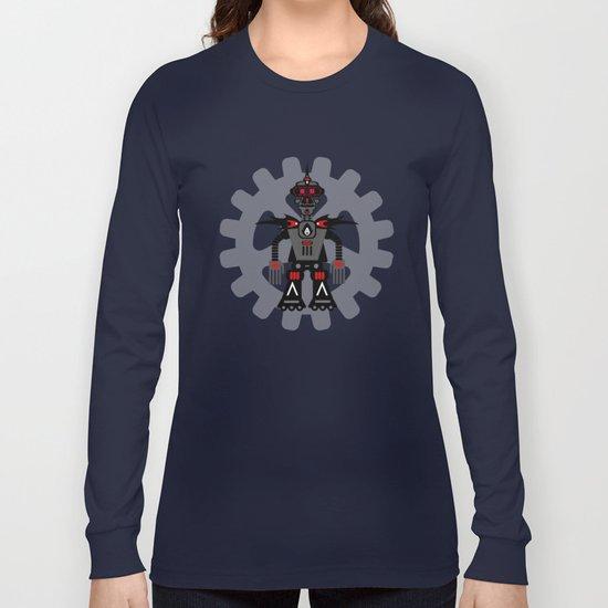 Evil Robot Long Sleeve T-shirt