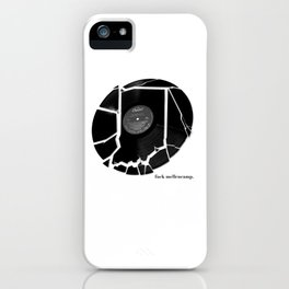 Mellencamp iPhone Case