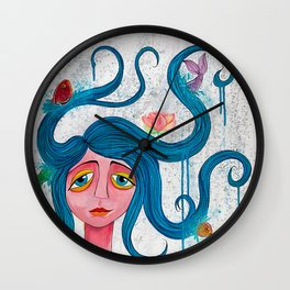 Naiad Wall Clock