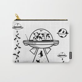 Alien cow abduction Carry-All Pouch