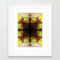sunglasses Framed Art Prints featuring Sunglasses by MICALI/ M J