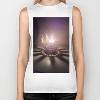 duvet cover Biker Tanks featuring LIGHT AND SHADOW DUVET COVER by aztosaha