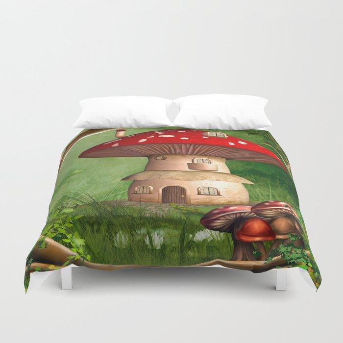 Dwarf Land Duvet Cover