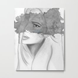 The Storm Inside My Head Metal Print