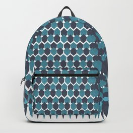 Cubist Ornament Pattern Backpack