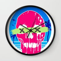 the xx Wall Clocks featuring XX by MU Art