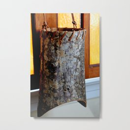 Barking Up The Right Tree Metal Print