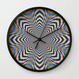 Octagonal Pulse Wall Clock