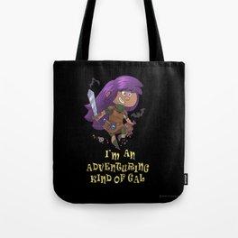 Adventure Gal Tote Bag
