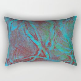 Abstract No. 206 Rectangular Pillow