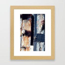 Piped Framed Art Print