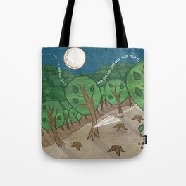 The little big forest Tote Bag