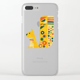 Century Squirrel Clear iPhone Case