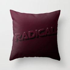 Radically Subtle Throw Pillow