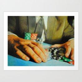 All In (Debt) Art Print