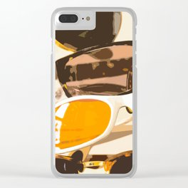 Let the sun shine - welcome spring and summer! Clear iPhone Case