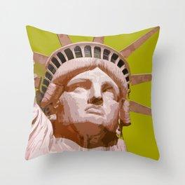 Liberty_2015_0409 Throw Pillow