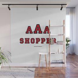 Triple-A Shopper – red Wall Mural