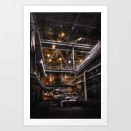 Under Gotham City Art Print