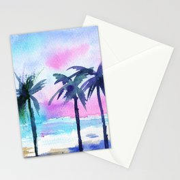Summer vibes #3 || watercolor Stationery Cards
