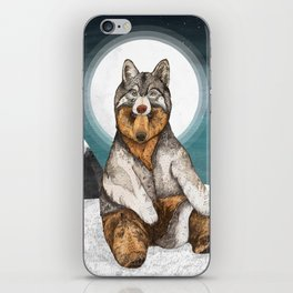 Wear Wolf iPhone Skin