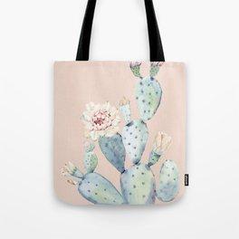 Desert Rose Cactus Pink Tote Bag