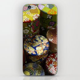 Pretty Boxes iPhone Skin