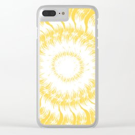 Sunny Day Clear iPhone Case