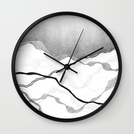 Mountainscape 6 Wall Clock