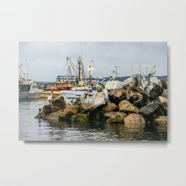 Boat Harbour, Eden, New South Wales Metal Print