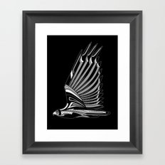 Hawk Deco III Framed Art Print