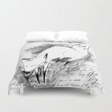 minima - deco fox Duvet Cover