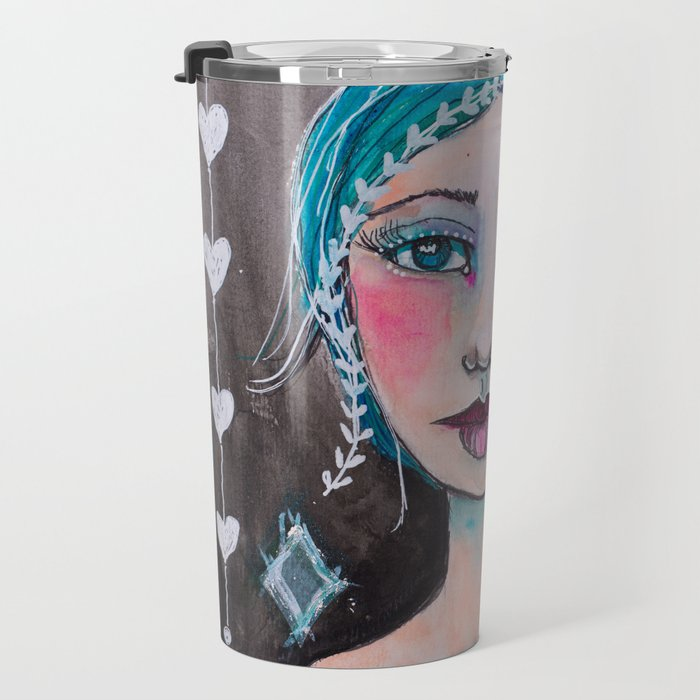 Midnight whimsy Travel Mug
