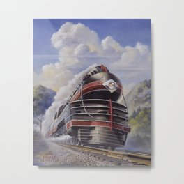 Lehigh Valley Railroad - The John Wilkes Metal Print