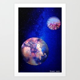 Let Me See What Spring Is Like On Jupiter & Mars Art Print