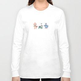 Sinnoh Map Long Sleeve T-shirt
