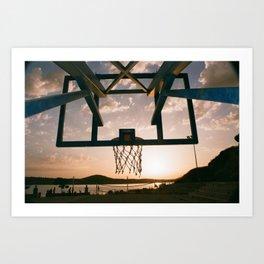 Courts Club - Analog Hoop Dreamz III. -Sibenik Art Print