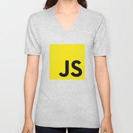 Javascript Unisex V-Neck