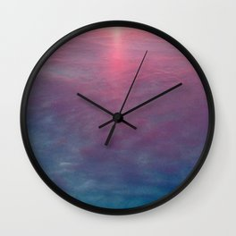 Sky and Water Wall Clock