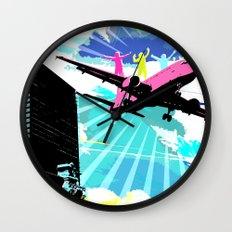 City Cloud Wall Clock
