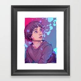 True Sight Framed Art Print