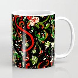 Swirly Trendy_Black Coffee Mug