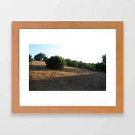 Blazing Trails Framed Art Print