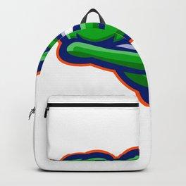 Alligator Head Mascot Backpack